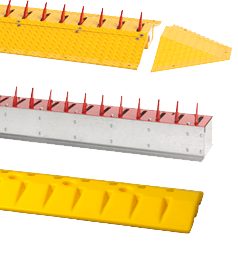 Traffic control spikes