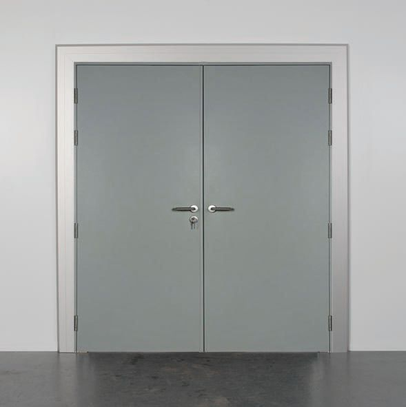 Personnel doors hollow metal vs solid core wood r s for Solid core vs solid wood doors