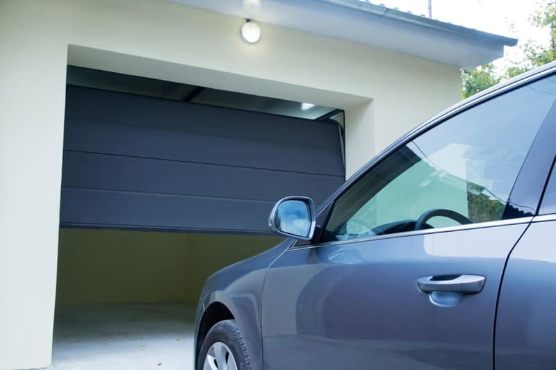 the benefits of going from a manual to an automatic garage door